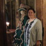 Anna Trombetta al Salotto Casanova di palazzo Venier a Venezia