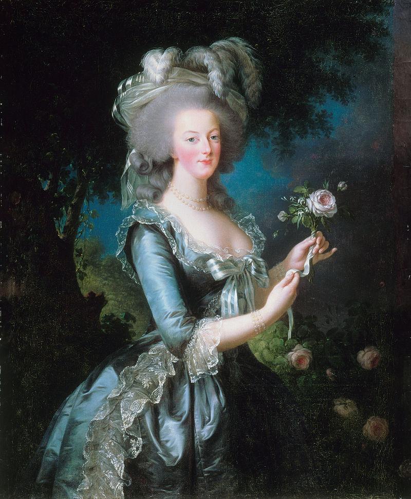 Cagliostro lo scandalo della collana: Louise Elisabeth Vigée-Lebrun, Marie-Antoinette dit à la Rose