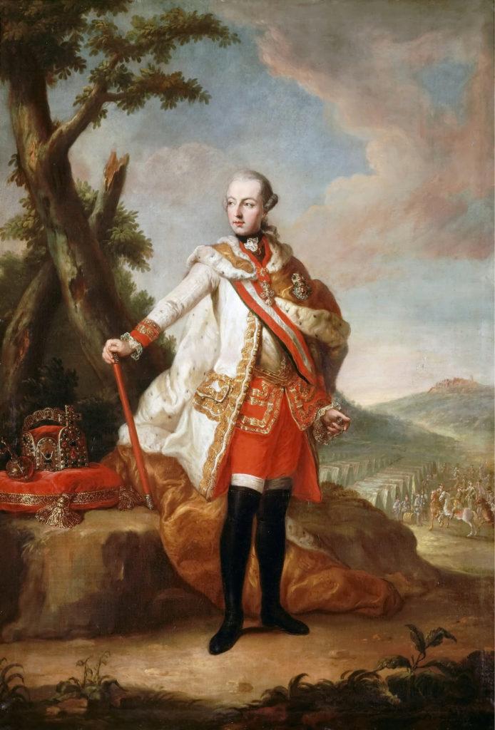 Corruzione del clero: L'Imperatore Giuseppe II, qui in un ritratto, propugnò le riforme contro il malcostume dei religiosi