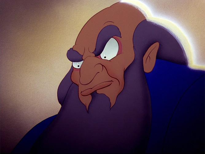 Il diavolo di Sarastro: il mago dell'Apprendista stregone, dal film Fantasia