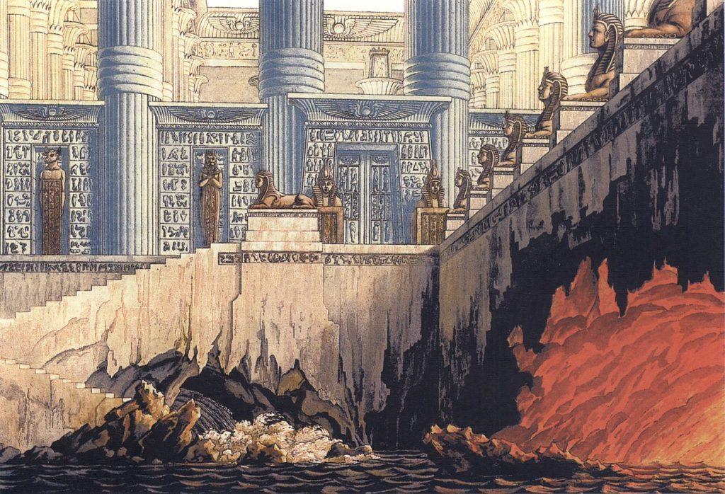 Speculazioni massoniche: prove dell'acqua e del fuoco nei sotterranei del tempio di Sarastro